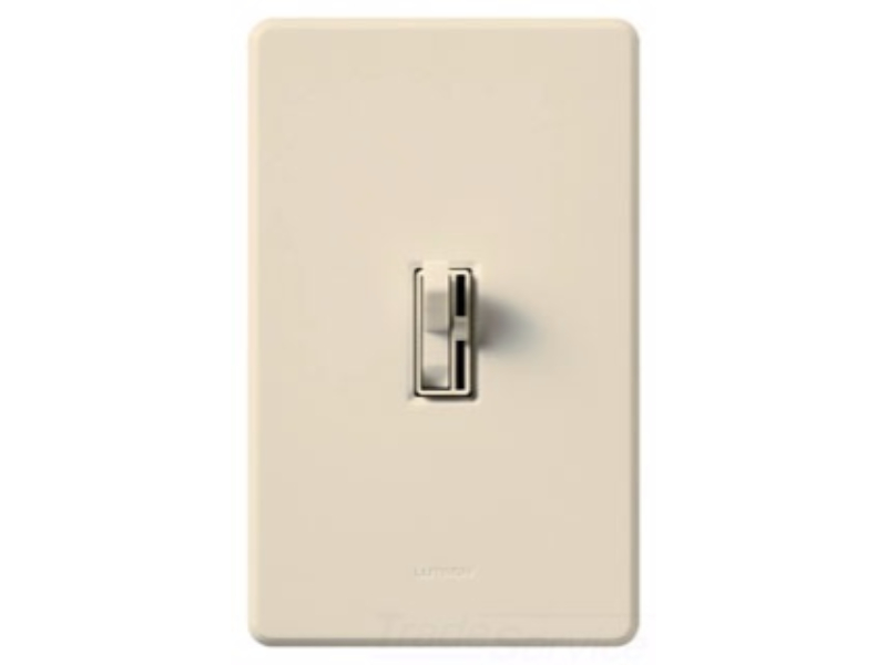 Lutron AYCL-153P-LA Ariadni Toggler 150 Watt Single-Pole 3-Way Dimmable CFL LED Dimmer,... by Lutron Electronics Company, Inc.