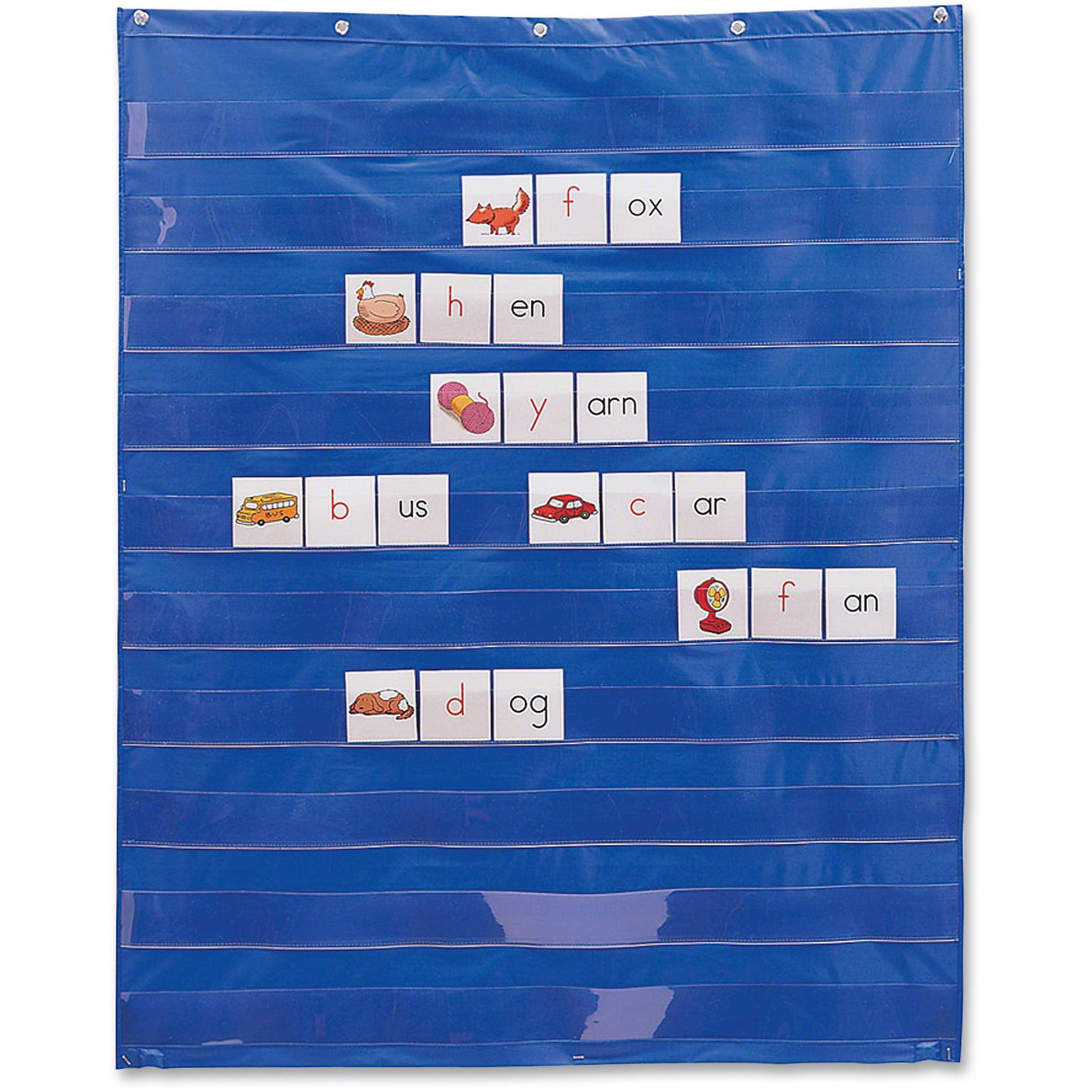 Learning Resources, LRNLER2206, Standard Pocket Chart, 1 Each