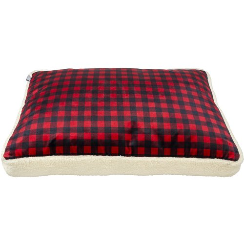Tucker Murphy Pet Bejou Check Luxury Pet Replacement Bed Cover