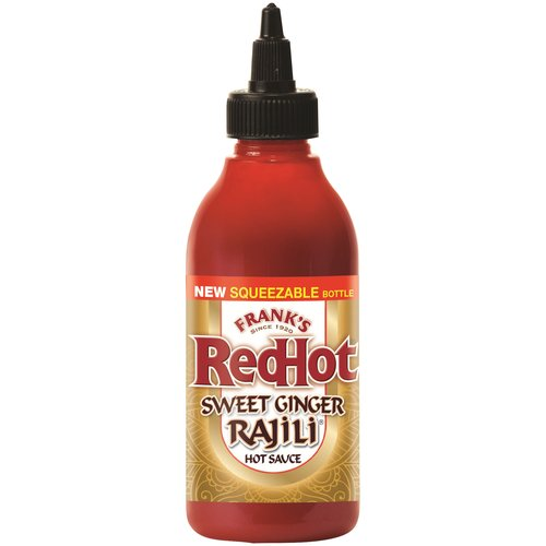 Frank's RedHot Hot Sauce Sweet Ginger Rajili, 6.8 FL OZ by The French's Food Company LLC