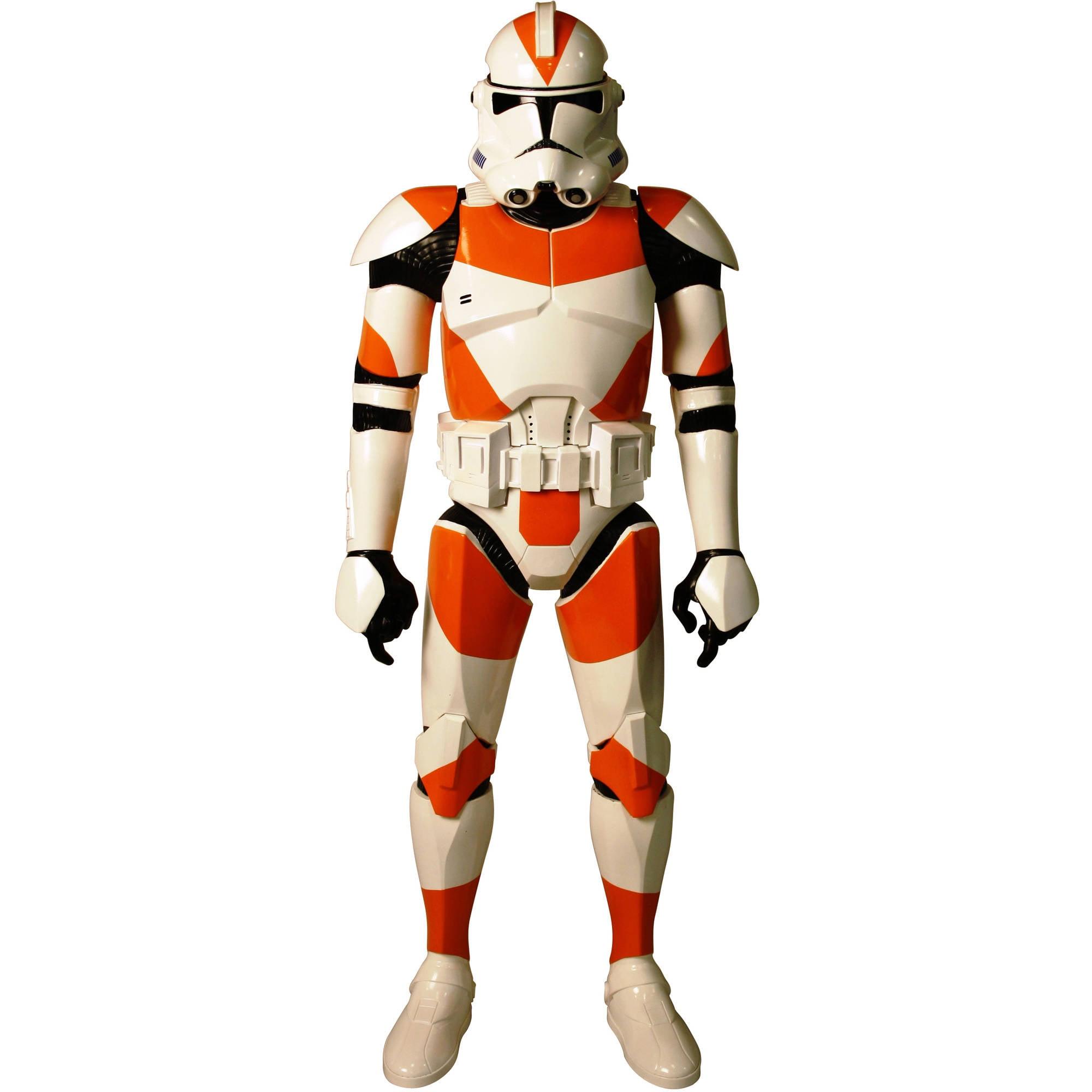 "Star Wars Orange Utapau Clone Trooper Giant 31"" Action Figure"