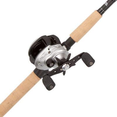 Abu Garcia Maxtoro Baitcast Low Profile Reel And Fishing Rod Combo