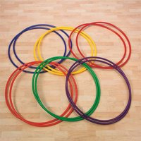 Spectrum No Knott Hoops, Pack of 12, 24""
