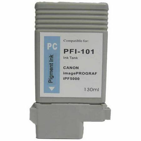Universal Inkjet Compatible Cartridge for Canon PFI-101PC Cartridge, Photo -