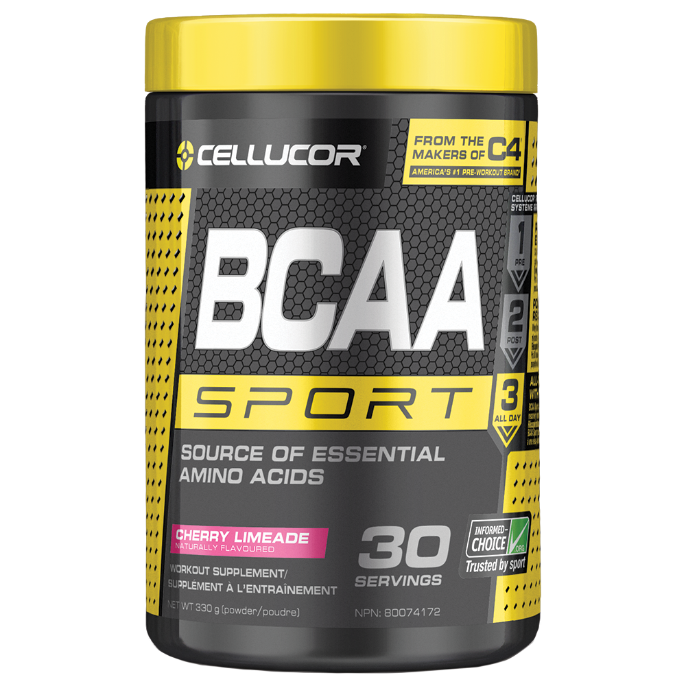 Cellucor BCAA Sport BCAA Powder, Cherry Limeade, 30 Servings
