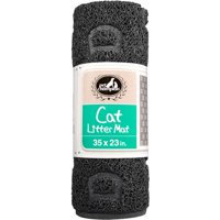 Pet Champion, Cat Litter Mat, Large, Black
