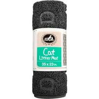 Pet Champion, Cat Litter Mat, Large, Black