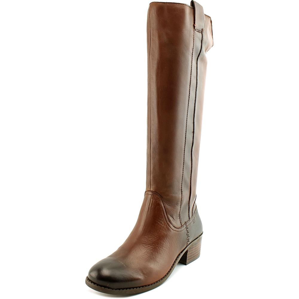 Arturo Chiang George-X   Round Toe Leather  Knee High Boot
