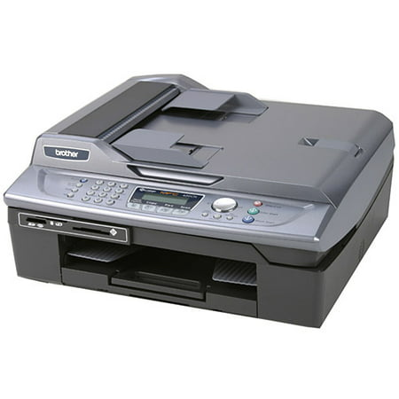 Brother MFC-420CN 6-in-1 Color Inkjet Multi-Function Center (Fax/ Print/  Copy/ Scan/ PC Fax/ PhotoCapture Center)