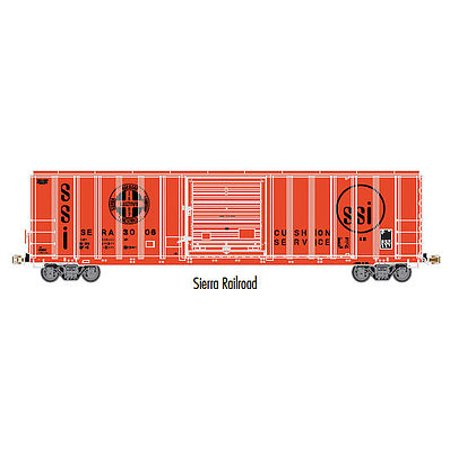 Atlas 20003341 Ho Sierra Railroad Fmc 5077 Single Door Boxcar Early  3008
