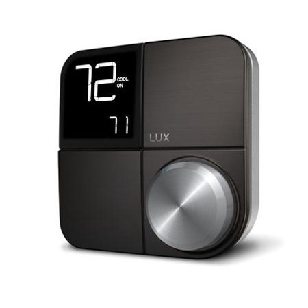 Lux Kono Smart Thermostat, No Hub Required, Interchangeable Faceplate