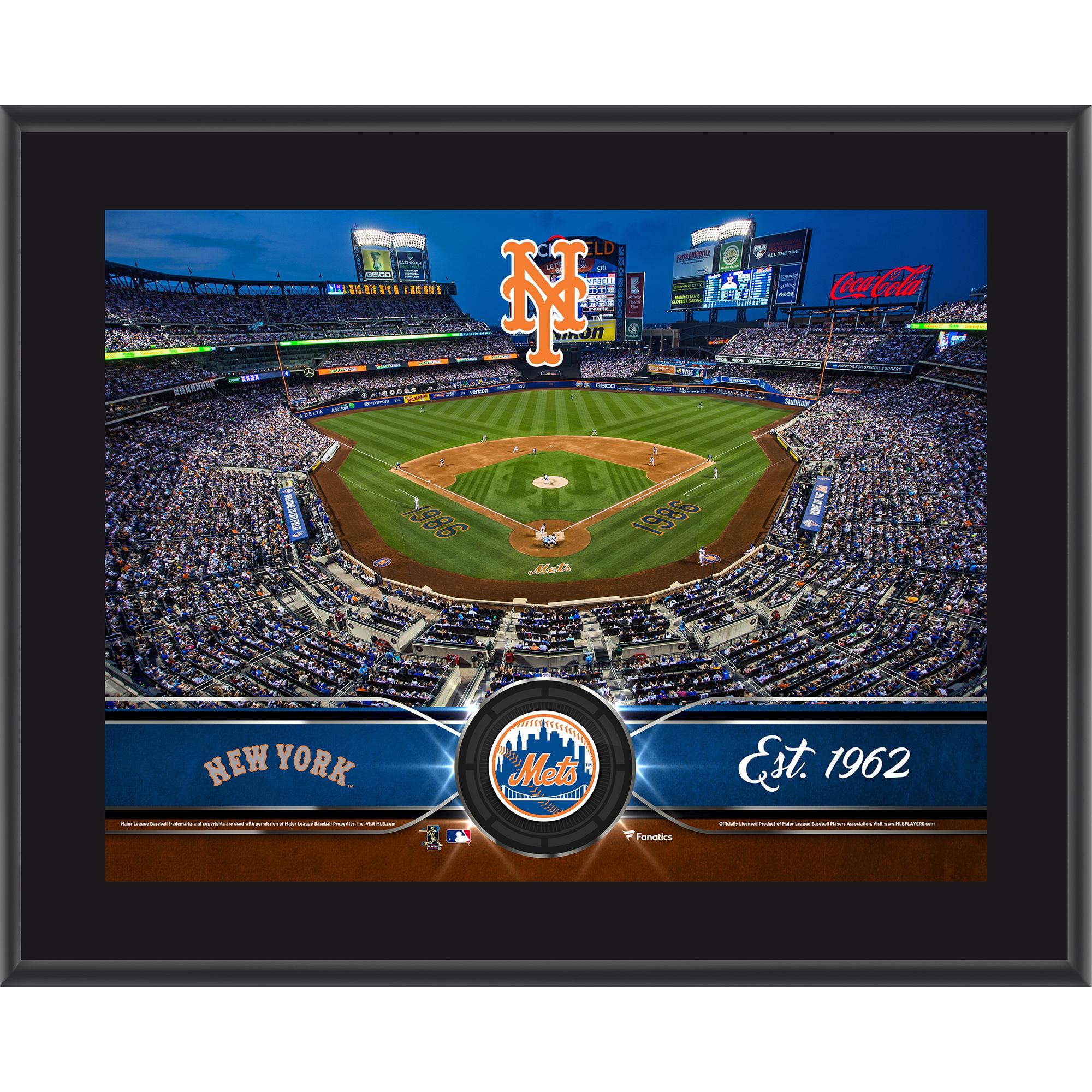 "New York Mets Fanatics Authentic 10.5"" x 13"" Sublimated Team Plaque - No Size"