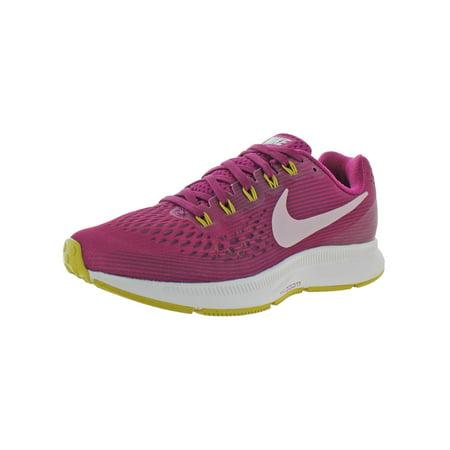 Nike Womens Air Zoom Pegasus 34 Mesh Low Top Running Shoes