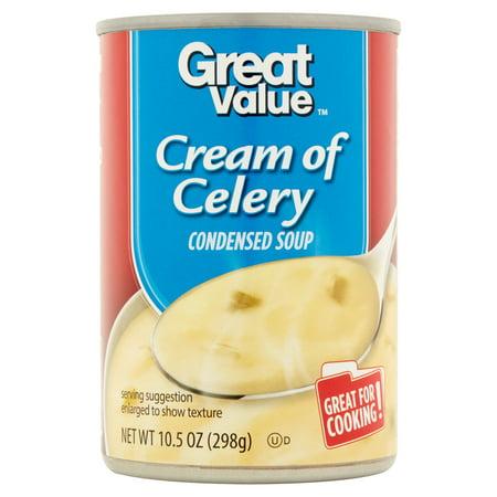 Great Value Cream Of Celery Condensed Soup 10 5 Oz Walmart Com