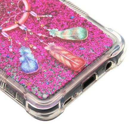 Samsung Galaxy S9 Plus Case, by Insten Tuff Quicksand Glitter Dreamcatcher Hard Plastic/Soft TPU Rubber Case Cover For Samsung Galaxy S9 Plus S9+, Multi-Color - image 5 de 6