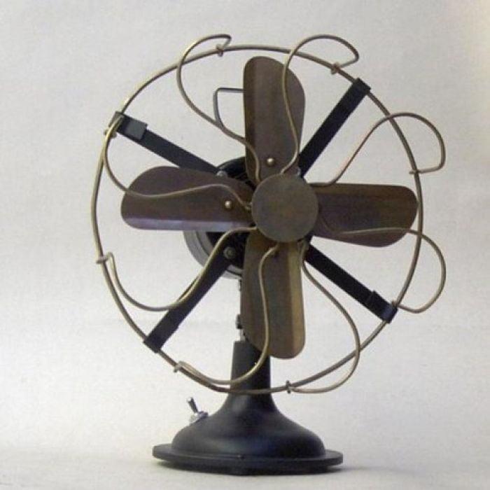 India Overseas Trading BR8040 - Antique Brass Fan, Decorative,.: No Motor