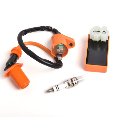 Scooter Performance Racing Ignition Coil   Spark Plug   Cdi For Gy6 50Cc 125Cc 150Cc