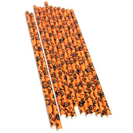 Halloween Paper Straws (Halloween Paper Straws)