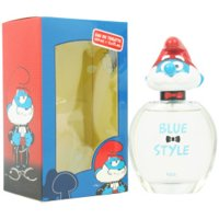 The Smurfs Blue Style Papa, First American Brands Fragrance for Kids, 3.4 oz