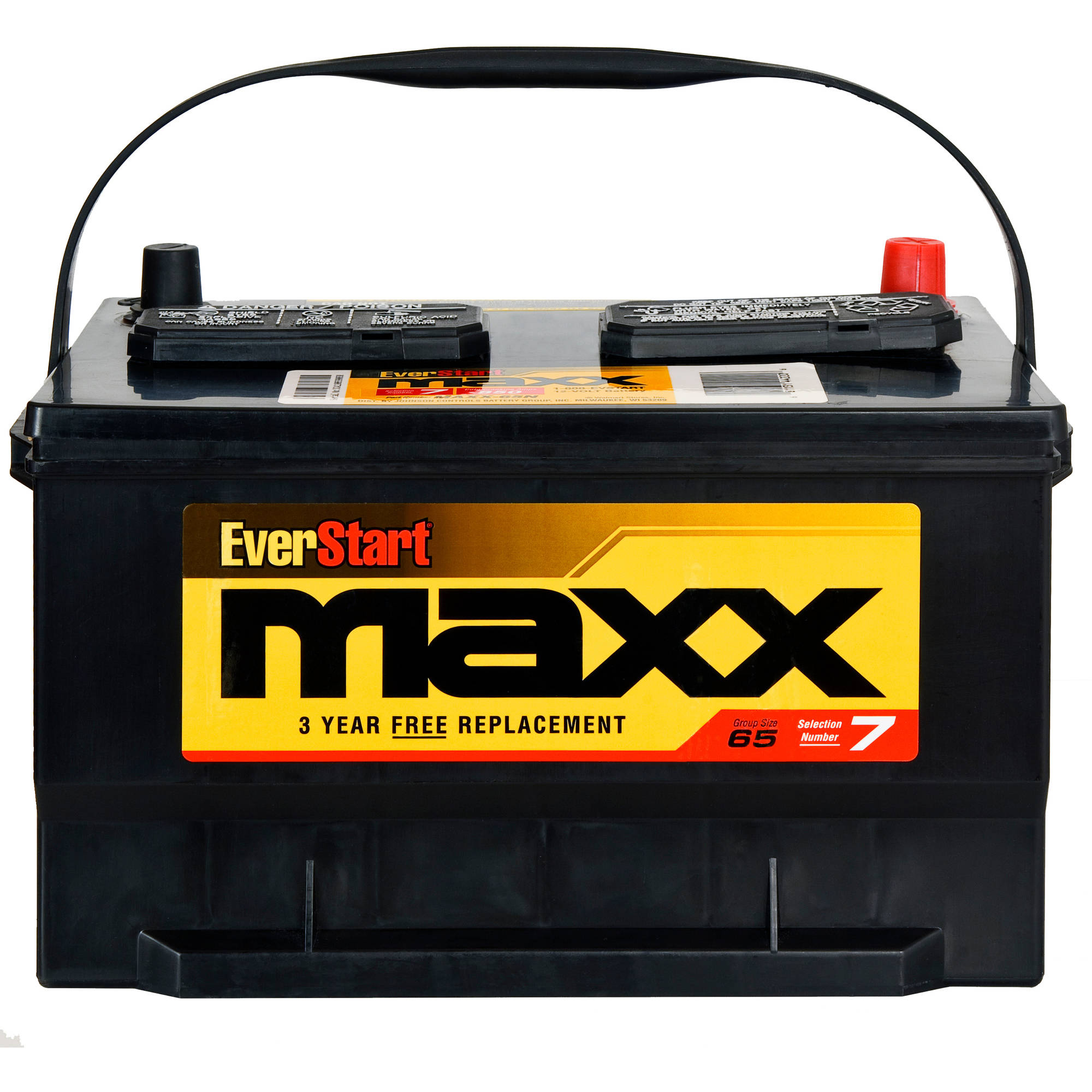 Everstart Maxx Lead Acid Automotive Battery Group Size 65n