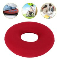 "Moaere 14"" Original Donut Cushion-Inflatable Donut Pillow for Tailbone Pain Relief Hemorrhoid Treatment Bed Sores Prostatitis"
