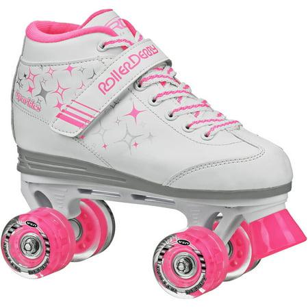Girls Roller Skates (Roller Derby Sparkle Girls\' Outdoor Roller Skates )