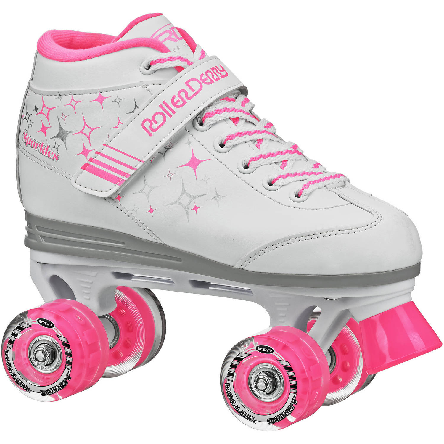 Roller Derby Sparkle Girls' Outdoor Roller Skates