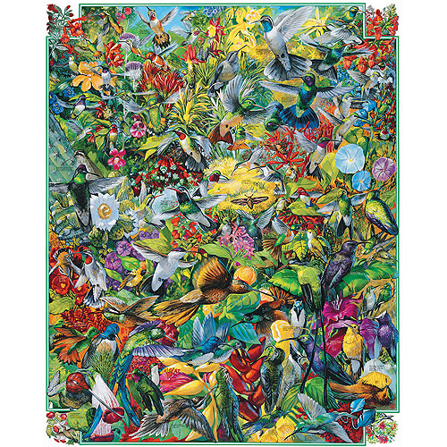 "Jigsaw Puzzle 1000 Pieces 24""X30""-Hummingbirds"