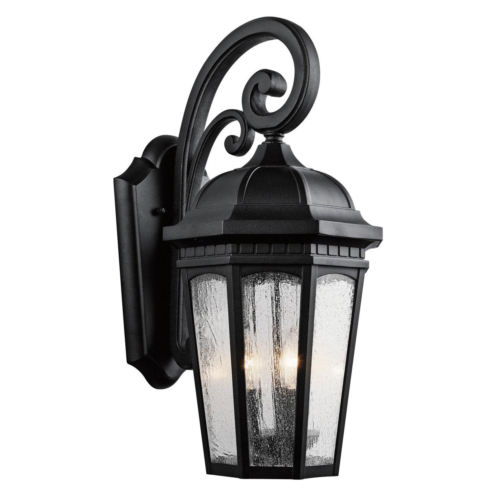 Kichler Courtyard 903 3 Light Outdoor Wall Lantern