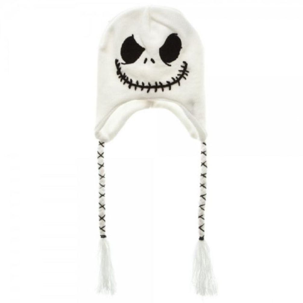 48ccc33ce35c2 The Nightmare Before Christmas Jack Skellington Laplander White Winter Hat