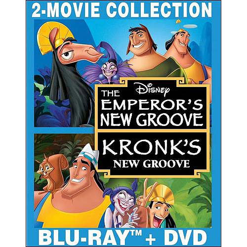 The Emperor's New Groove / Kronk's New Groove (Blu-ray   DVD) (Widescreen)