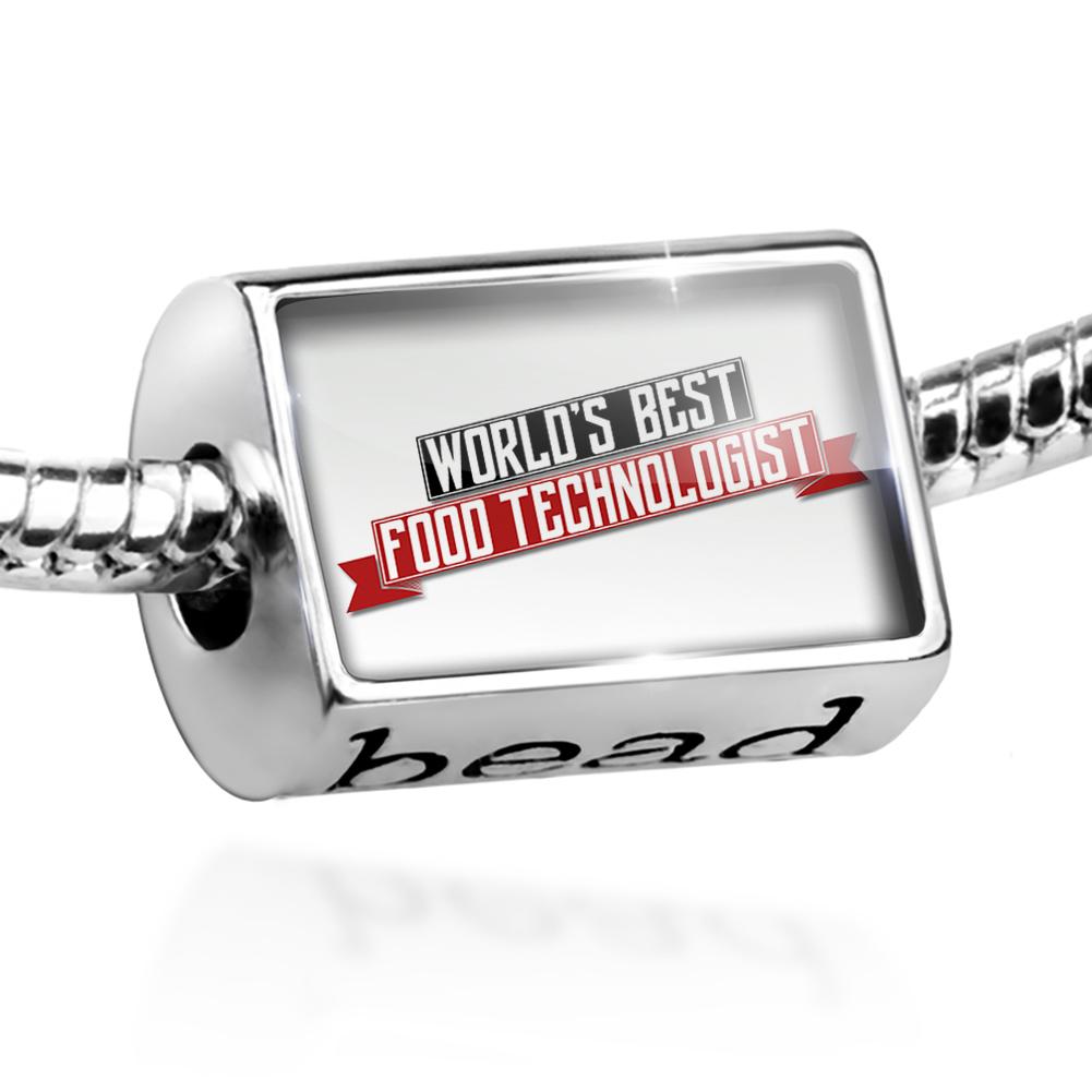 Bead Worlds Best Food Technologist Charm Fits All European Bracelets