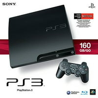 Refurbished Sony PlayStation PS3 Slim 160GB Console