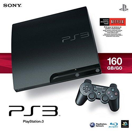 Refurbished Sony PlayStation PS3 Slim 160GB Console