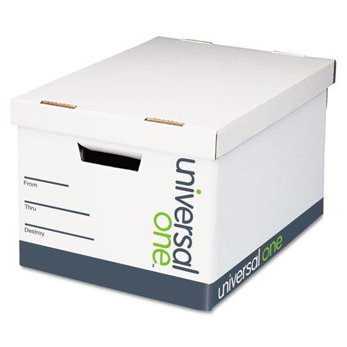 Universal Quick Set-Up Lift-Off Lid Storage Box, 12/Carton