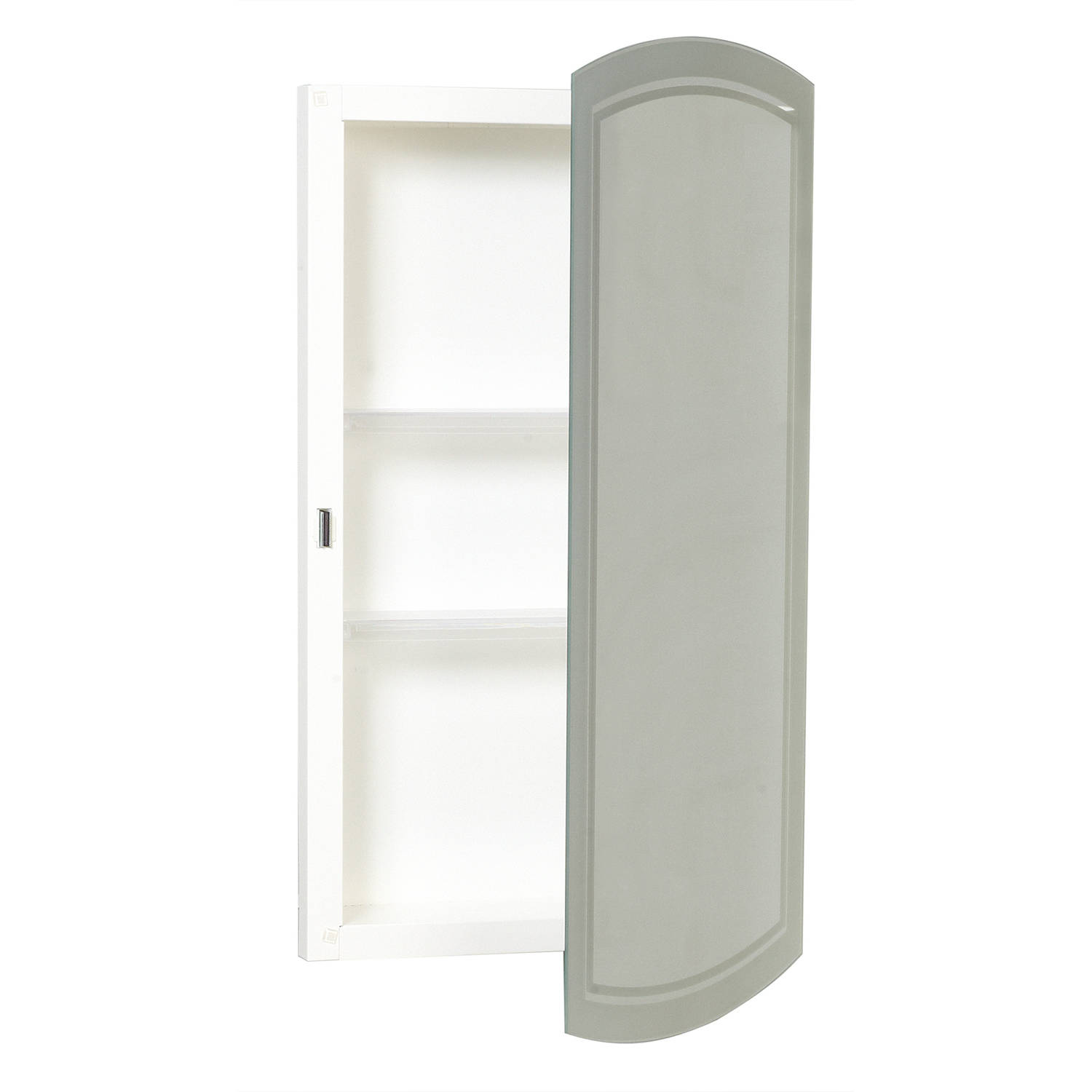 "Zenith MM1029 16"" x 28.25"" x 4.5"" White Frameless Medicine Cabinet by Zenith Products"