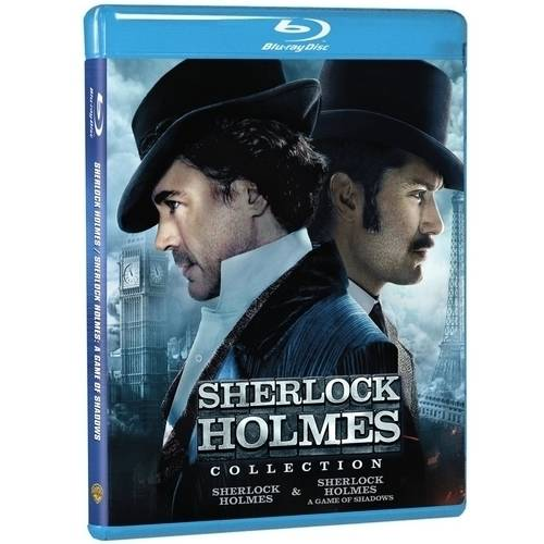Sherlock Holmes Collection: Sherlock Holmes / Sherlock Holmes: A Game Of Shadows (Blu-ray) (Widescreen)