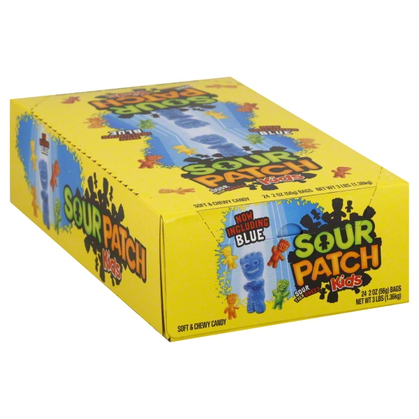 24/Pack Continental Concession Spk24 Sour Patch Kids 2 Oz 24 Pack