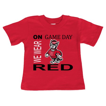 - NC State Wolfpack On Game Day Baby/Toddler T-Shirt