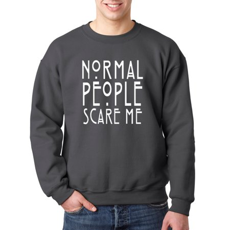 New Way 080 - Crewneck Normal People Scare Me American Horror Story Sweatshirt