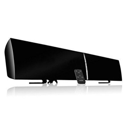 LuguLake TV Sound Bar 3D Surround Wireless Speaker for Home Theater-39 inch, Multi-Connection, Wall Mounted