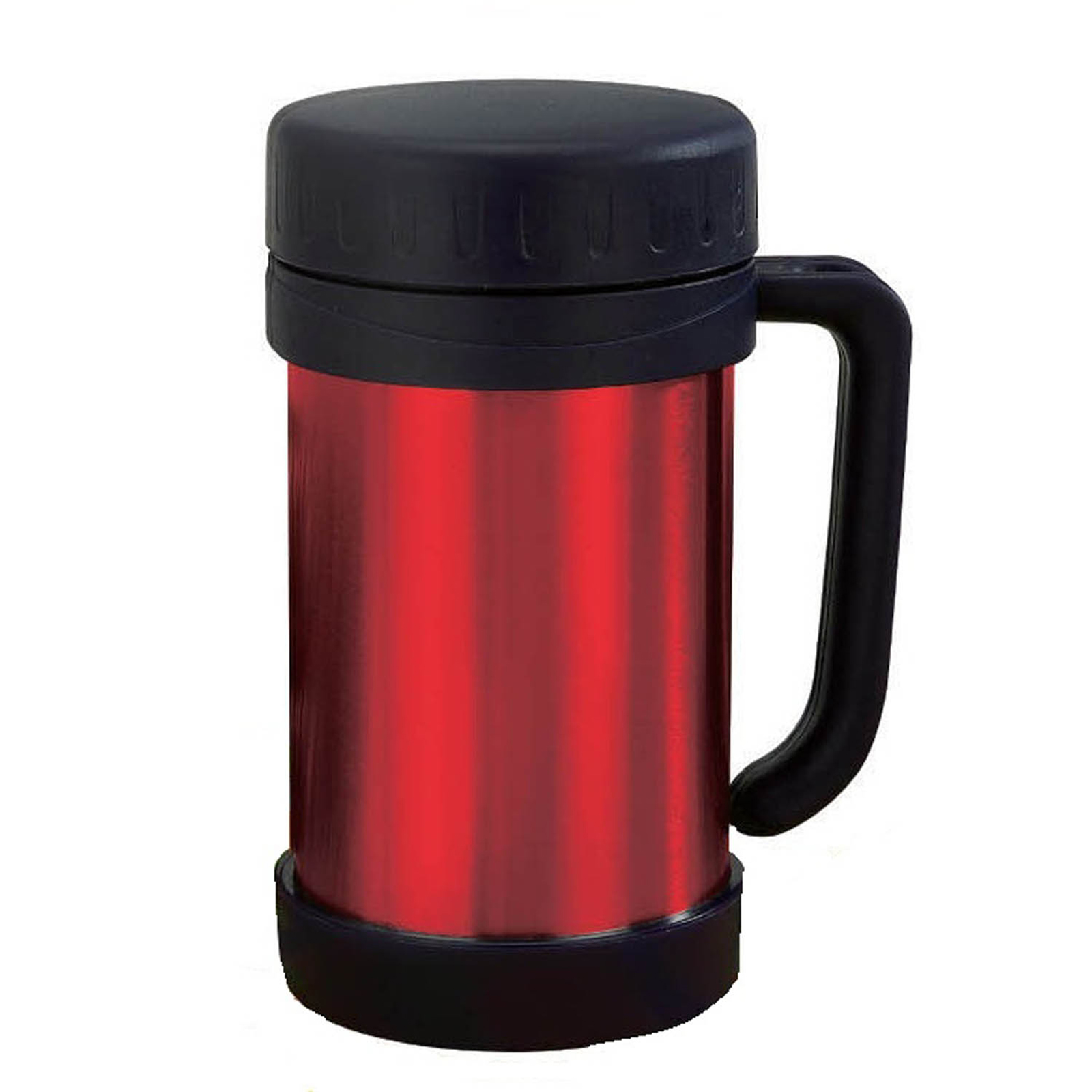 Brentwood 0.5 L Vaccum Food Thermos With Handle S/S Red