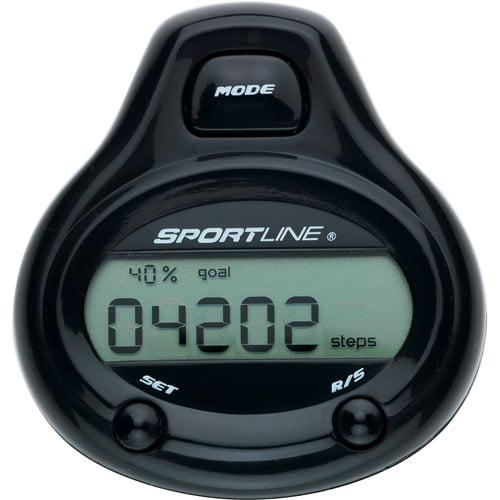 Sportline Step & Distance Black