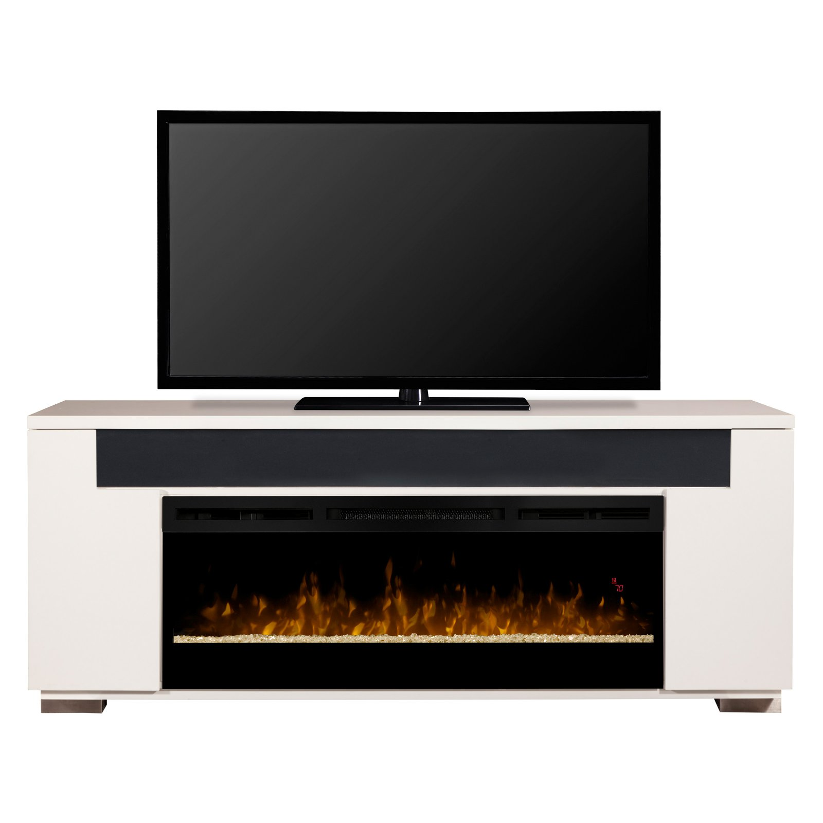 Dimplex haley media console electric fireplace with - Going to bed with embers in fireplace ...