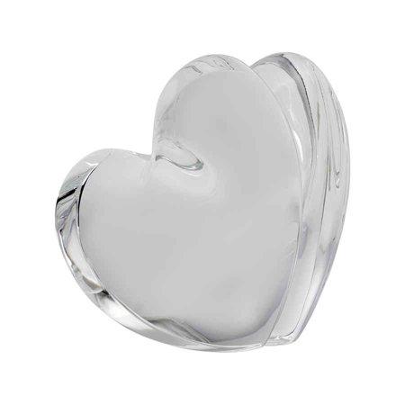 Baccarat Crystal Clear ZinZin Heart Large