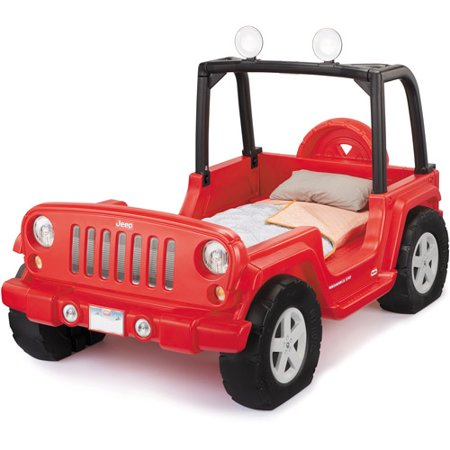 Little Tikes Jeep Wrangler Toddler To Twin Convertible Bed