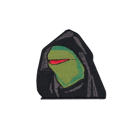 Frog Applique Pattern (Evil Frog Iron On Applique Patch )