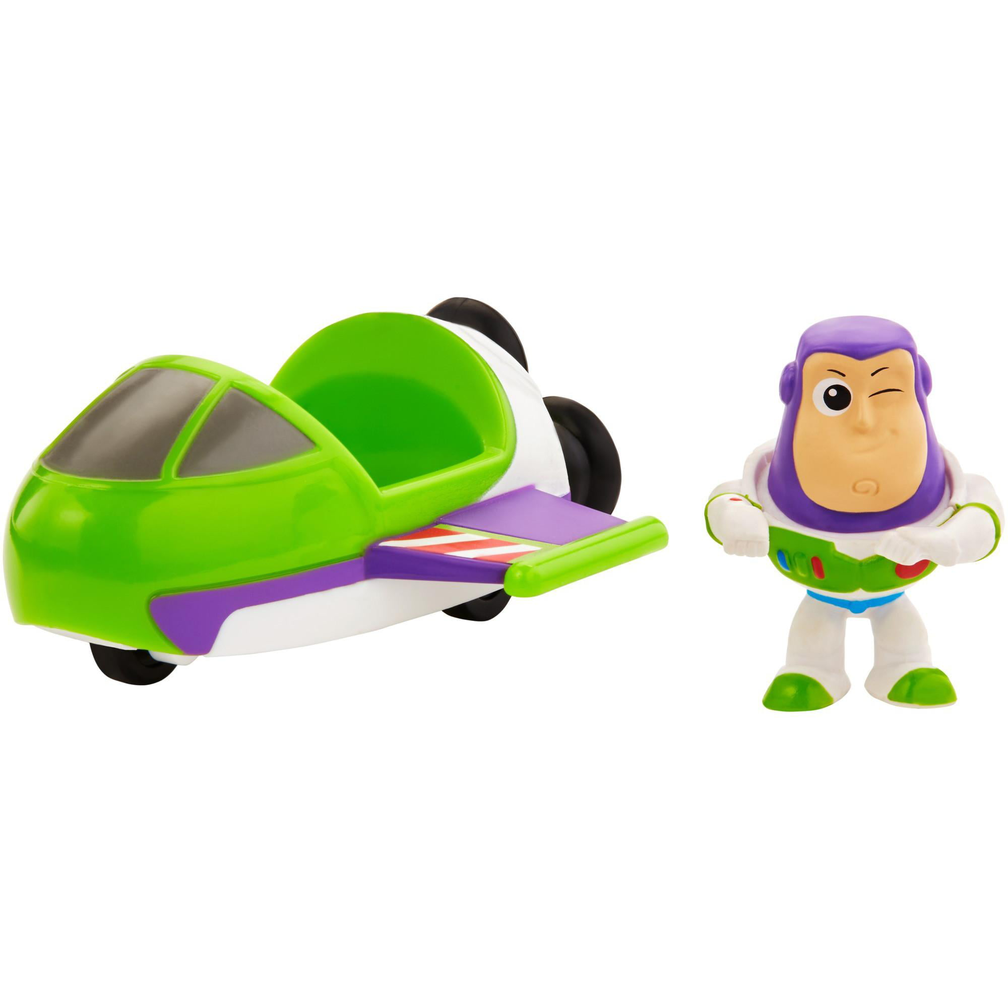 Disney Pixar Toy Story Mini Buzz Lightyear and Spaceship Set