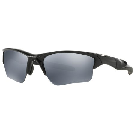 Oakley Mens Half Jacket 2.0 XL Sunglasses , Polished Black Frame/Black Iridium Lens
