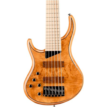 String Left Handed Electric Bass (MTD Kingston Z6 6-String Left-Handed Maple Fingerboard Electric Bass Natural)